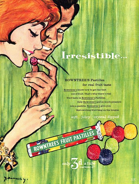 Rowntree's Pastilles - they're soft, juicy and crystal-dipped!  are these like gum drops?