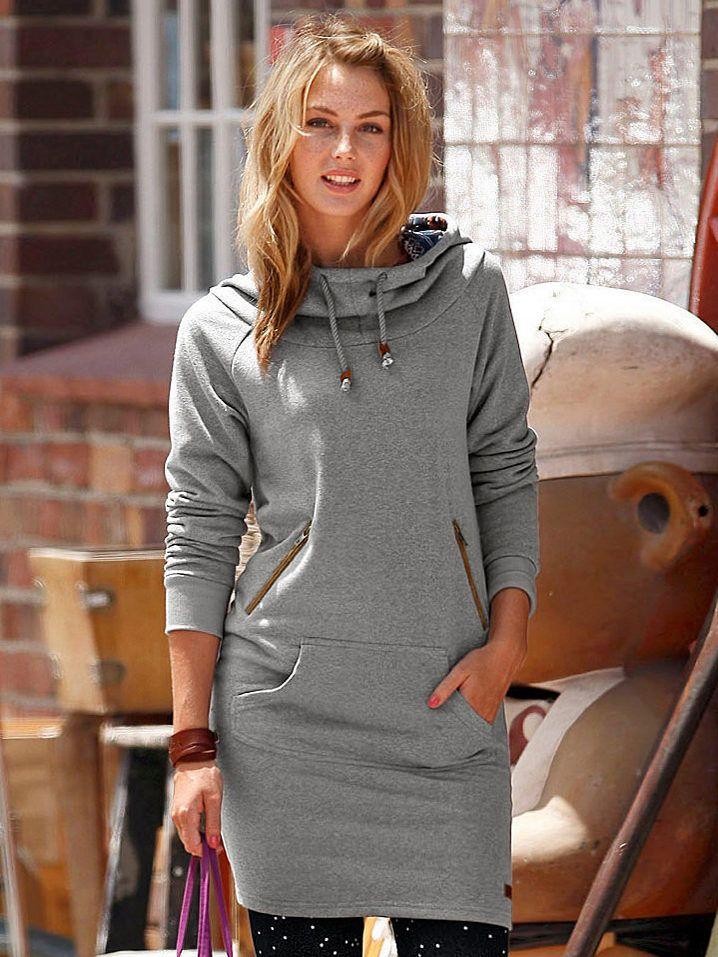 молодежное  платье из футера