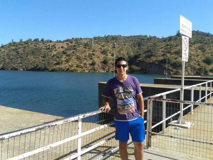 De paso por la Central Hidroelectrica Rapel