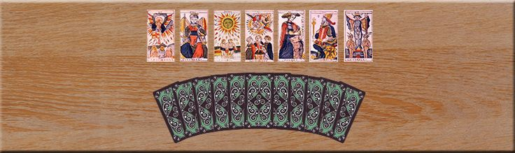 WHY SHOULD YOU USE A SEVEN-CARD TAROT READING? http://www.the-medium-maria.com/free-trial-offers/free-psychic-reading-online.html #MediumMaria #Tarot #Numerology