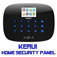 KERUI Wireless Home Security System-W193 KERUI Wireless Home Security System-3G  WIFI PSTN RFID Card GSM Touch Keypad Color Display DIY Kit Auto Dial Free APP Remote Control  Support WIFI 3G PSTN - 2.4G WIFI:the alarm system will push alarm notification via free wifi when someone breaks into your house.   #Best Home Security System #best wireless home security system #diy home security #diy wireless home security #diy wireless home security systems #home security #home…