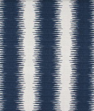 Here it is in a navy/white colorway, which is exactly like your inspiration picture and which I like a little better- Premier Prints Jiri Nina Navy Birch Fabric