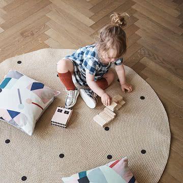 Triangle Jute Carpet von ferm Living im Shop