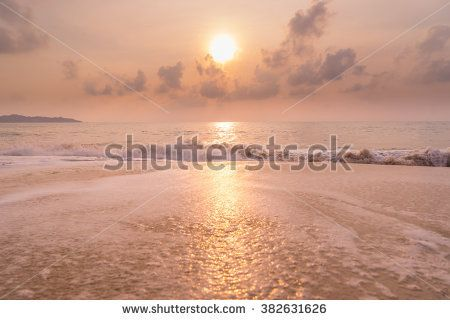 A Sunset at the beach