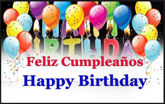 #SPANISH #Happy #Birthday #Balloons Confetti. From the Collection of #DianaDee's HAPPY BIRTHDAY FACEBOOK https://www.pinterest.com/DianaDeeOsborne/happy-birthday-facebook/ - CAREFULLY selected variety of messages & greetings for Friends & Family via #Social #Media, #Facebook, #Instagram, #Email etc. SOURCE: http://www.appybirthday.org/say-happy-birthday-wishes-in-spanish-song/