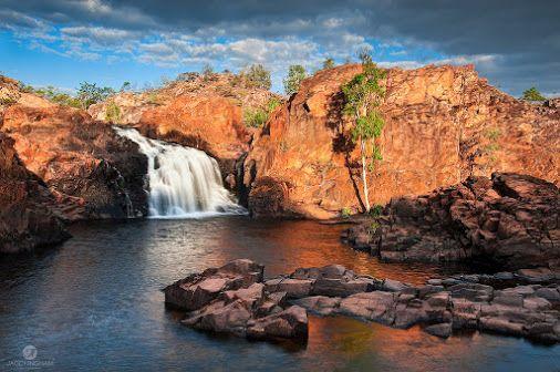Upper Pool of Leliyn, Edith Falls in Nitmiluk, Northern Territory, Australia
