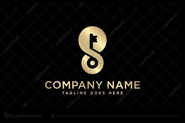 Exclusive Logo 101002 Letter S Key Logo S Logo Design Logo