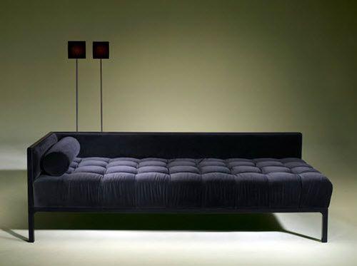 Contemporary Daybed / Fabric / Indoor DIAMOND Luisa Peixoto Design
