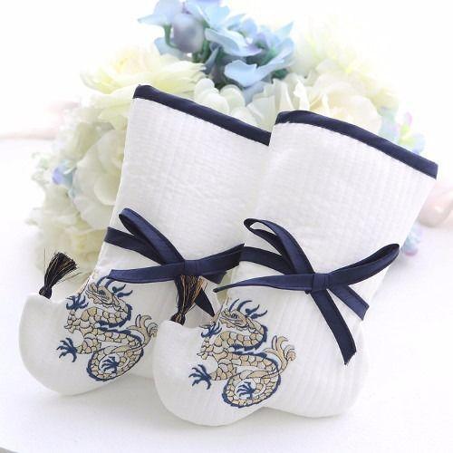 Hanbok Embroider BUSUN Korean traditional clothes Girl Boy Socks Luxury Dress #FairyCloset #Koreanhanbokhairband