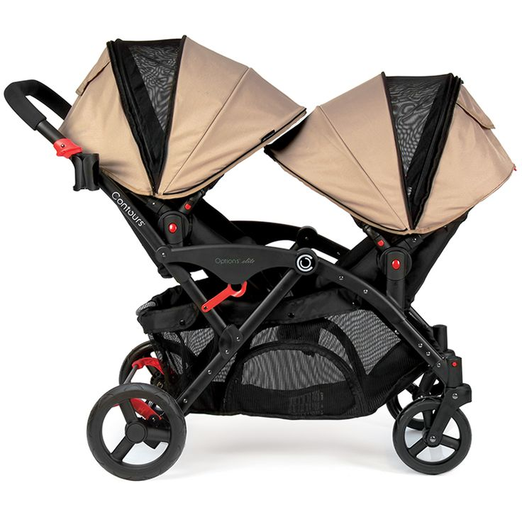 Meet our award-winning tandem stroller. With extra storage and 7 seating configurations, it's the best double stroller for today's busy family on the go!