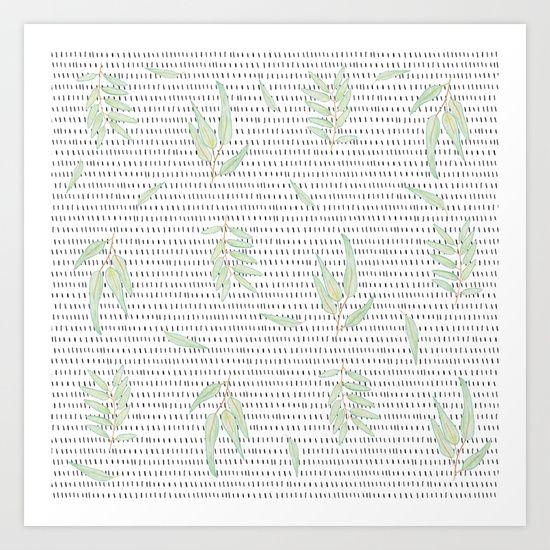 Eucalyptus Art Print by Jana Otto - $16.50