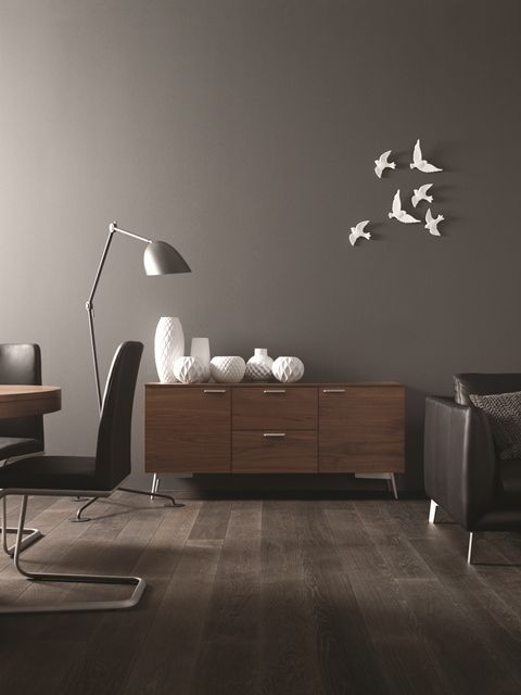 flying birds above the occa sideboard boconcept living room inspiration pinterest the o. Black Bedroom Furniture Sets. Home Design Ideas