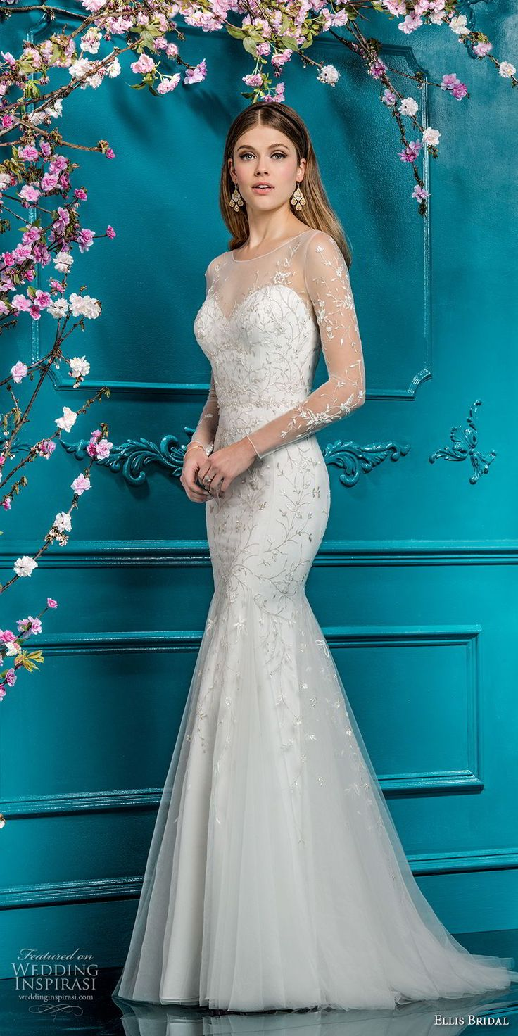 20 best Ellis Bridal images on Pinterest | Wedding frocks, Bridal ...