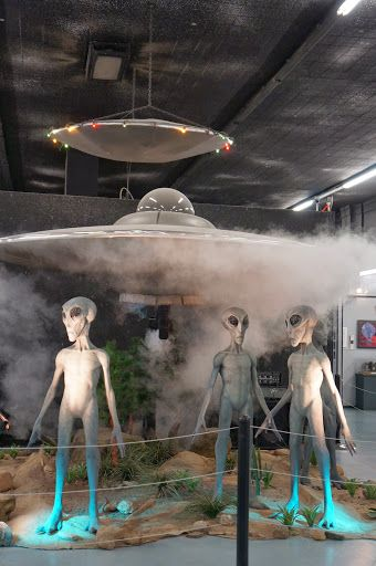 International UFO Museum and Research Center. Roswell, New Mexico.