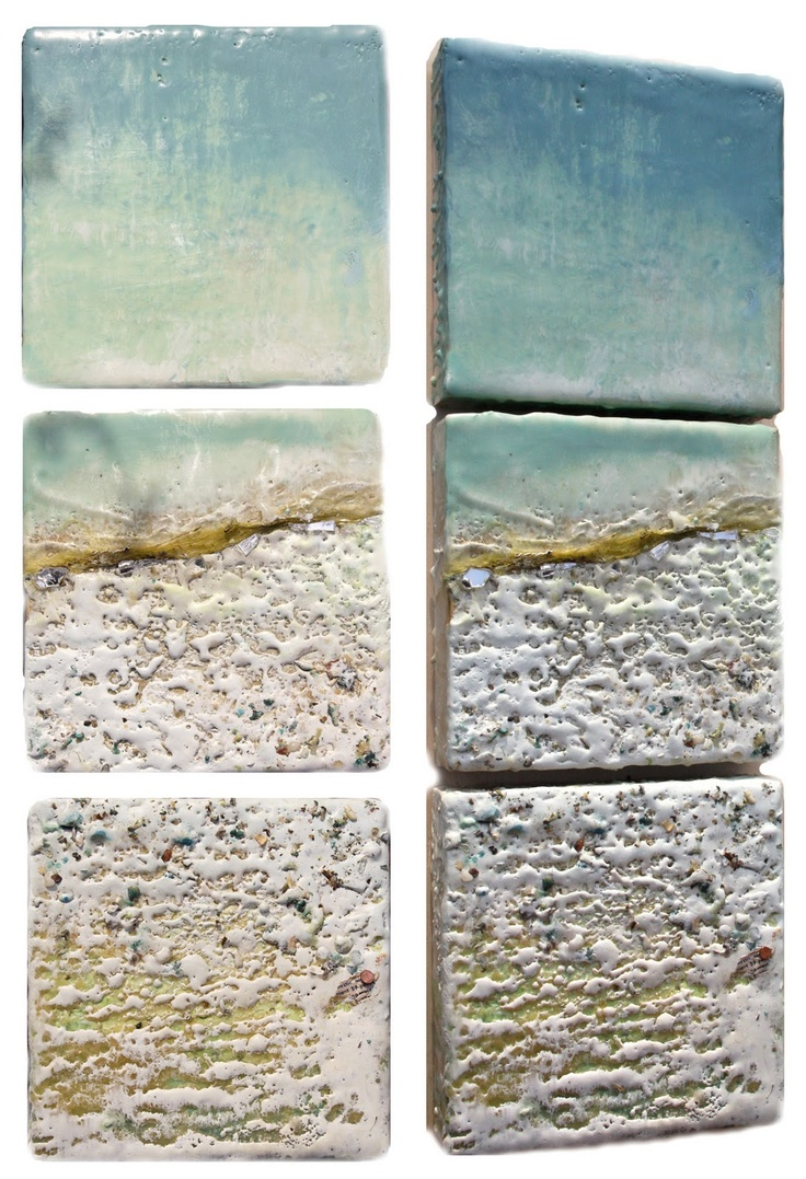 Robin Luciano Beaty: New triptychs and tons of studio traffic