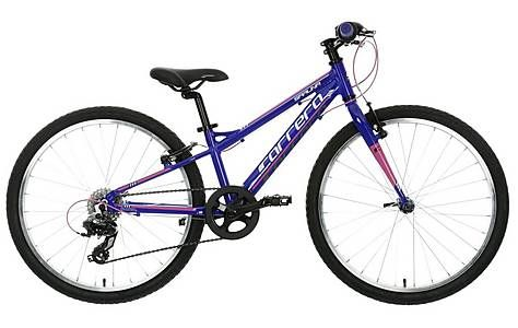 image of Carrera Saruna Girls Hybrid Bike - 24""