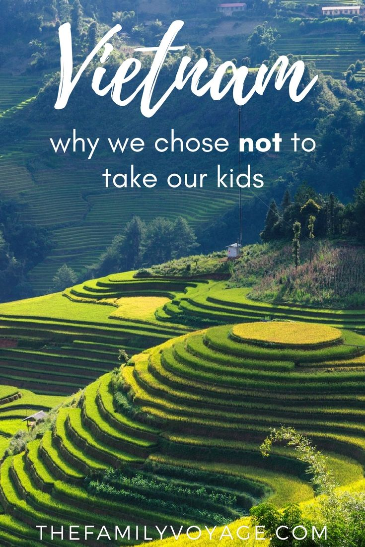 If you're considering visiting Vietnam with kids, read on to find out the little-discussed reason why we cancelled our trip. (Don't worry, we'll go when they're older!) #travel #familytravel #travelwithkids #vietnam #asia #travelplanning