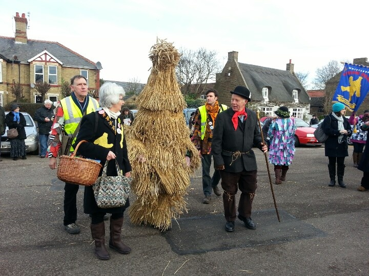 Choose Cambridge for quirky festivals... A straw bear fair... only in Cambridgeshire?! Whittlesey, 2013