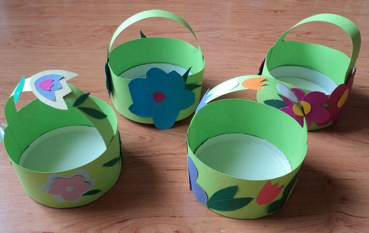 Květinové košíčky