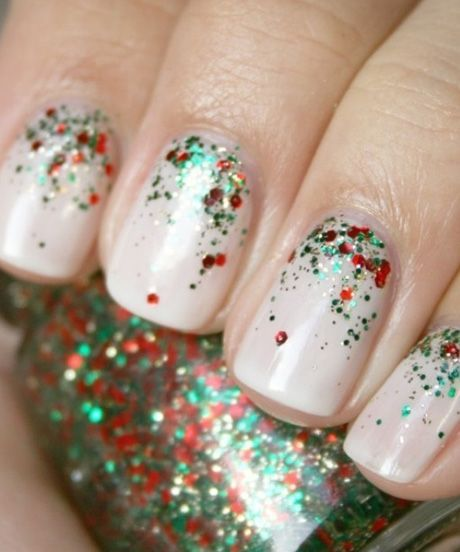 Holiday Nail Art Designs — Christmas Nails 2013 | Refinery29 rounds up the cutest, goofiest, most festive nail art of the season. #refinery29 http://www.refinery29.com/holiday-nail-art