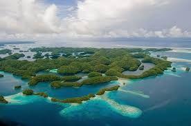Vitajte v tropickom raji: Skalné ostrovy v lagúne Palau