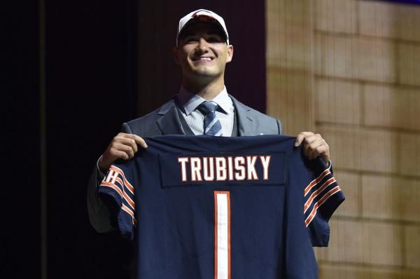 Mitchell Trubisky, the No. 2 overall pick in the 2017 NFL Draft, signed a four-year contract with the Chicago Bears on Wednesday.