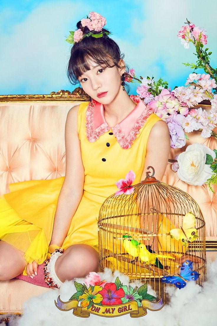 Coloring Book Oh My Girl Kpop Members 2017 Comeback Mini Album Photoshoot Teaser Photos
