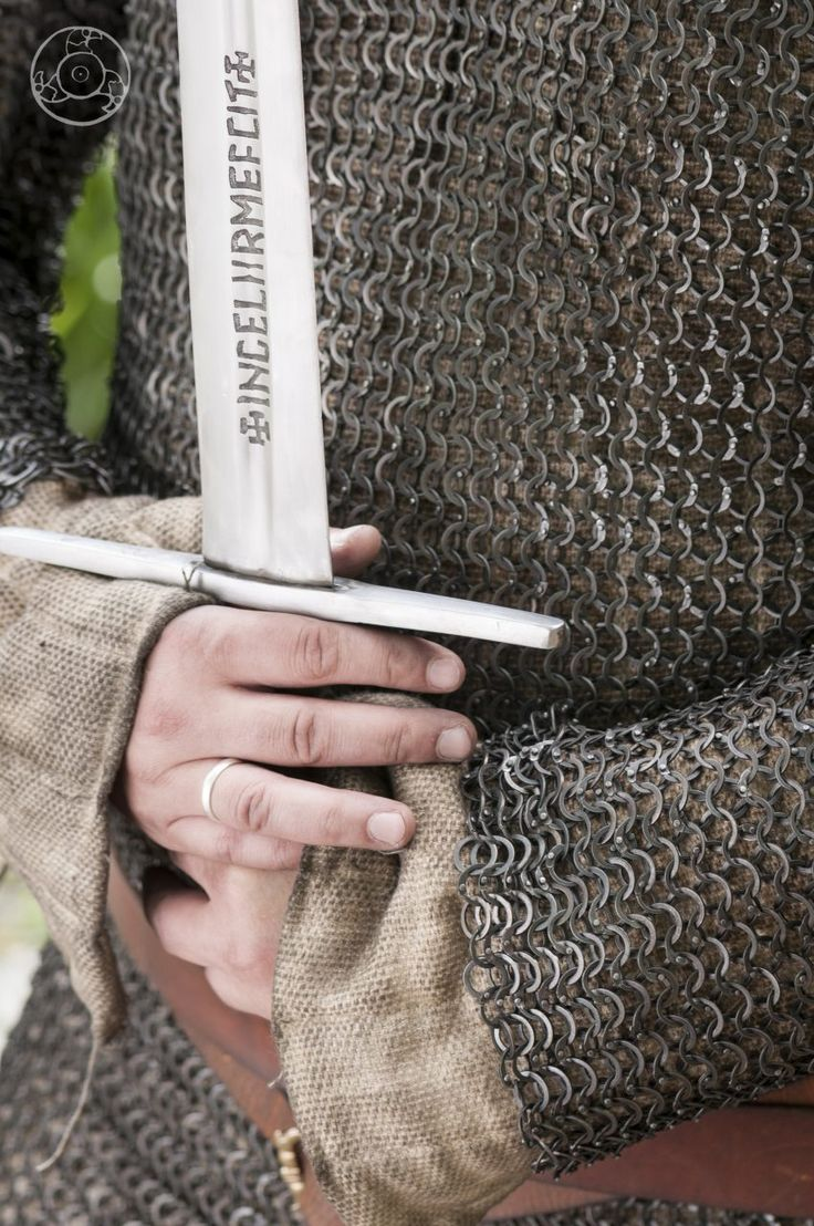 Riveted chainmail