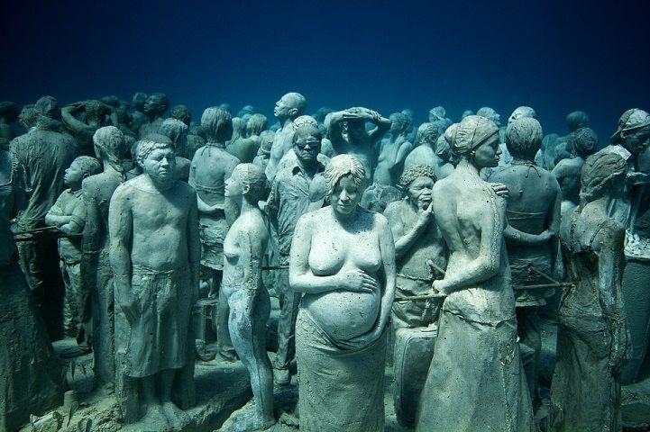 Les sculptures sousmarines de Jason deCaires Taylor  2Tout2Rien
