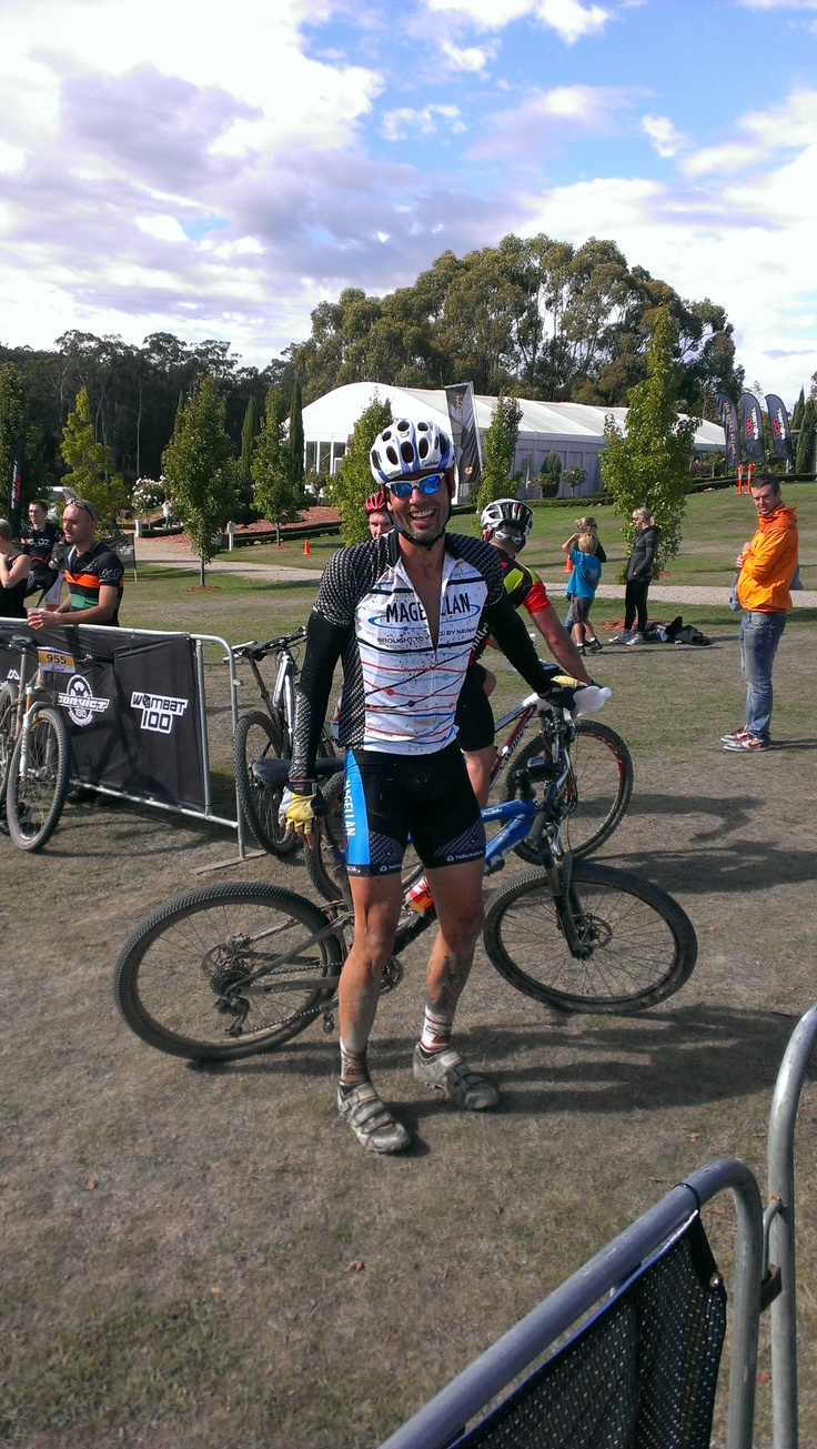 The Wombat 100 in Woodend VIC on Sunday 14th April 2013