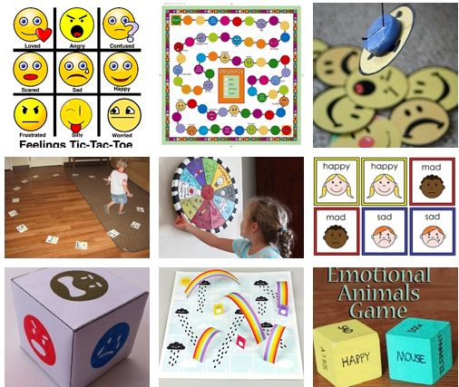 Printable Therapy Games - When you need a game quick these printables are online and free. Games address Emotions and Feelings in a fun way for individuals and groups.