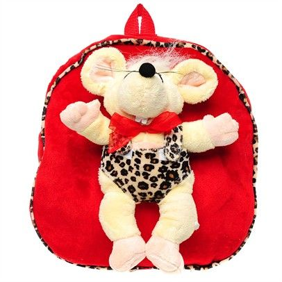 clearance sale kids backpack with teddy bear Bag-SN2-SN0005-C-RedCre $8.00 on Ozsale.com.au