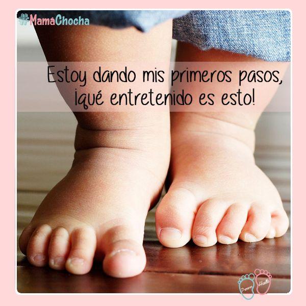 Mira mamá, ya tengo fuerza en mis piernas para caminar :D ¿A qué edad caminó tu bebé? http://www.primerahuella.cl/search/zapatos