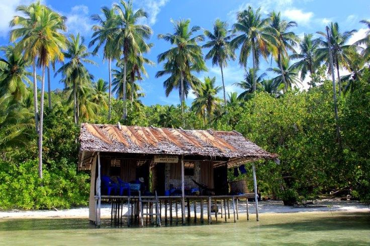 My idea of an idyllic house. Koryau Kayem Homestay on Mansuar Island.