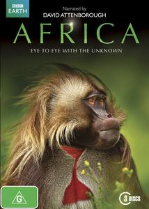 Africa. An amazing new perspective on the landscapes and creatures of Africa's wildest places. From hidden jungles and ice-blue glaciers to erupting volcanoes and lakes of poison, Africa explores an astonishing array of previously un-filmed locations and discovers bizarre new creatures and behaviours – including some of the rarest fish in the world, exploding insects and lizards that hunt on the backs of lions. $39.99