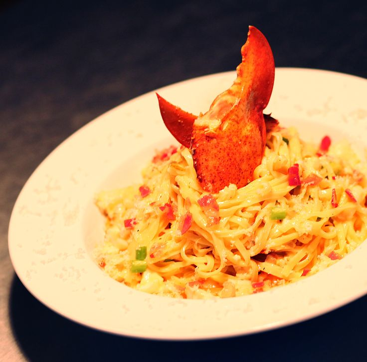 Carbonara au homard express svp   Max L'affamé