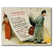 #Funny Nerve Specialist Advice to #Change #Lifestyle Postcard #Vintage