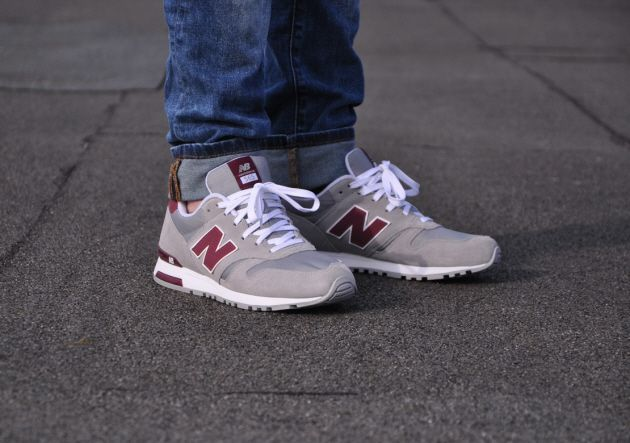 New Balance 565 – Grey Burgundy | Sneakers | Pinterest | Grey, Burgundy and New balance