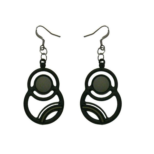 Batucada Saturne Earring - Grey $29.95 #leethal #accessories #fashion
