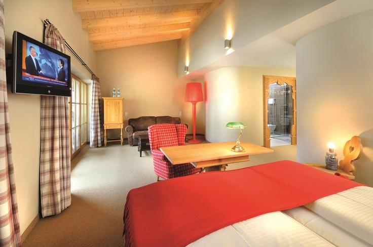 Doppelzimmer mit 45m² im Wellnesshotel Alpine Palace in Saalbach Hinterglemm