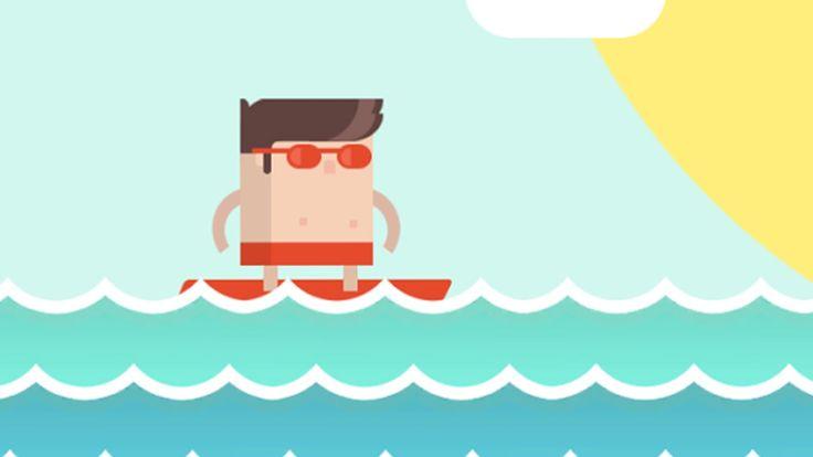 Flow Rider - Sulle ONDE del MARE - Giochi Android - (Salvo Pimpo's)