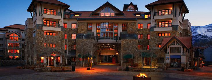 Fairmont Telluride. I <3 Fairmont and I can't wait to check out Colorado.