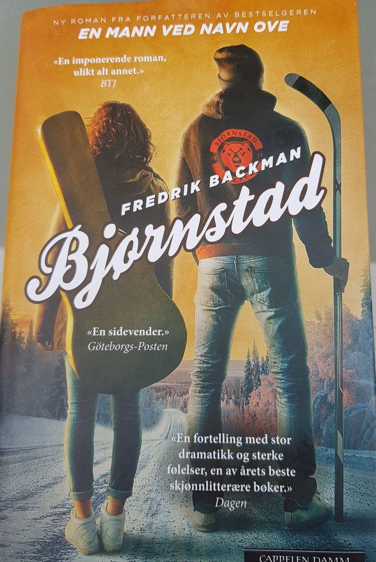 "Fredrik Backman: ""Björnstad"" (2016)."