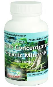 Help for Better Absorption of Nutrients from Supplements and Food, Improves Energy Levels, Helps to Aid a More Sound and Restful Sleep . Pure Concentrated Organic Minerals™ Capsules with Fulvic Acid #Energy #Minerals