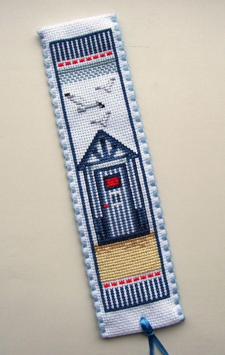 Vervaco Beach Hut bookmark.
