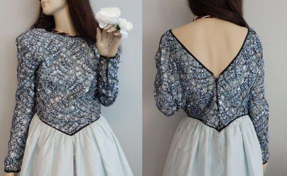 Vintage prinses jurk Jasmine die i Dream of door AutumnandAly
