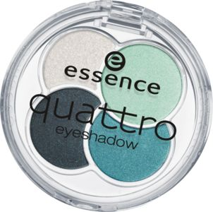 sombras quattro 13 laugh, love, lime - essence cosmetics