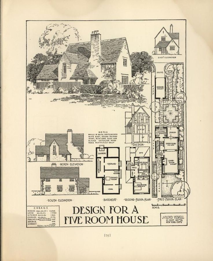 1000 Images About House Plans 1900 1930s On Pinterest