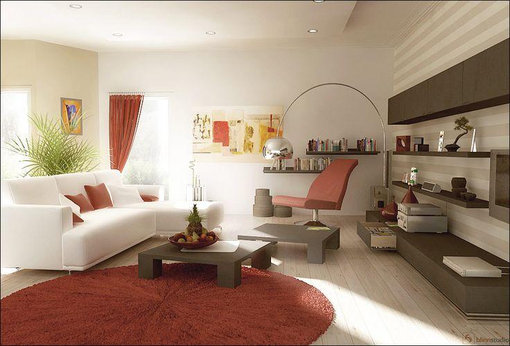 10 best images about decor diy inspiration red black - Red black white living room designs ...
