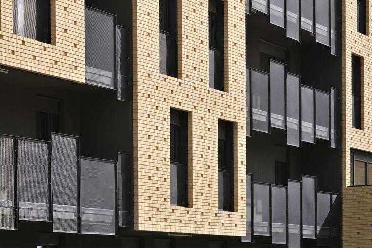 © Miran Kambič - Brick Neighbourhood / dekleva gregorič architects